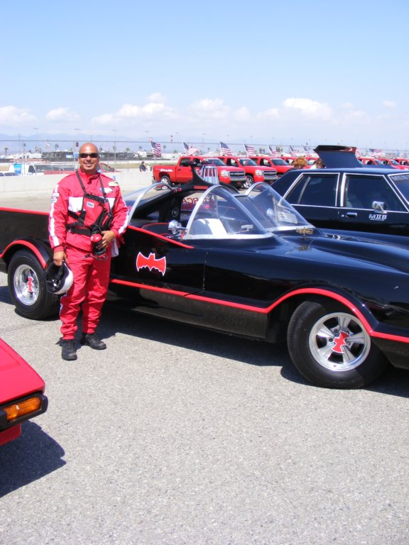 NASCAR pit crews like the BATMOBILE too!