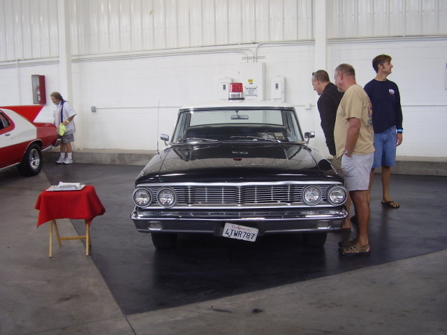 Brandy's Mayberry RFD car!