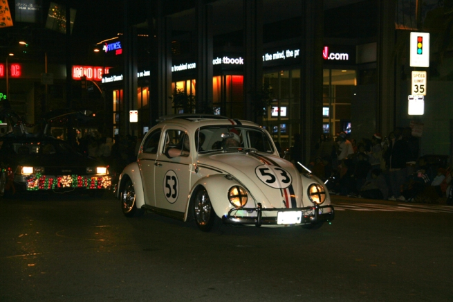 Herbie was in second place...
