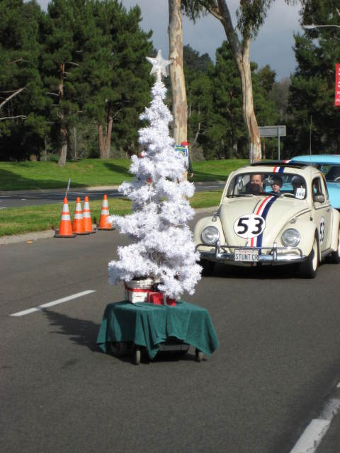 How is that tree moving? Herbie Power!
