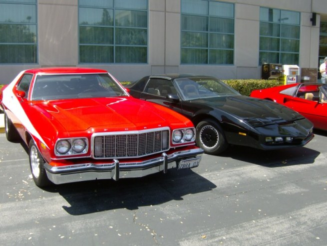 starsky, KITT and Magnum
