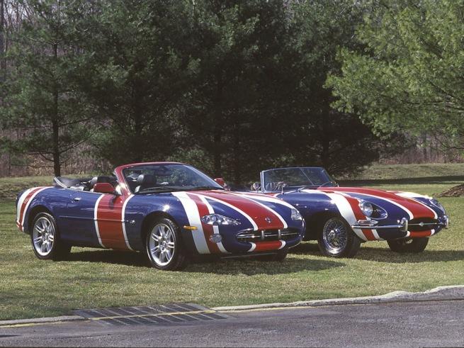 Jaguar Austin Powers E-type and XK8 Convertible