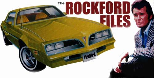 Rockford Files Firebird And Vanishing Point Challenger