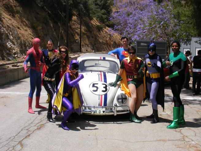 Super Hero's and Herbie