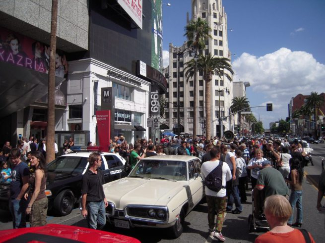 hollywood blvd star cars
