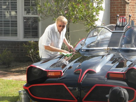 Adam West Batmobile Nate truman