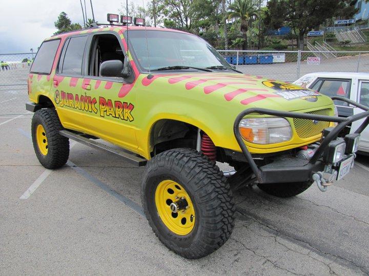 list    jurassic park liveried vehicles   find