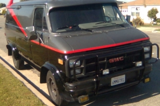 Craigs List Bend >> The Making of the A-Team van starcarcentral.com style! Mr. T GMC vandura is styling! | Star Car ...