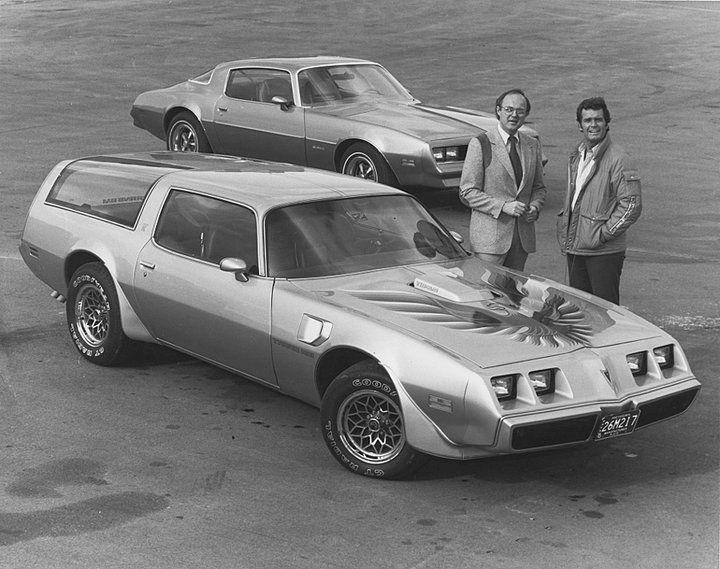 Rockford files makes a Firebird Esprit station wagon ...