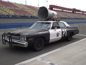 It's not a Bluesmobile, without the giant speaker!