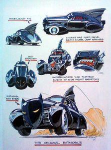 1940's black no bumper art