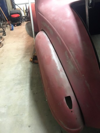 39 plymouth rear fender